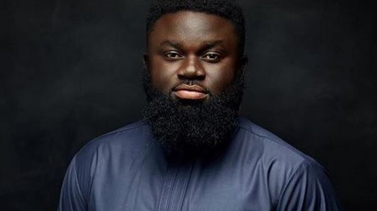 Image result for Medikal and Fella Makafui break up is a scam - George Britton