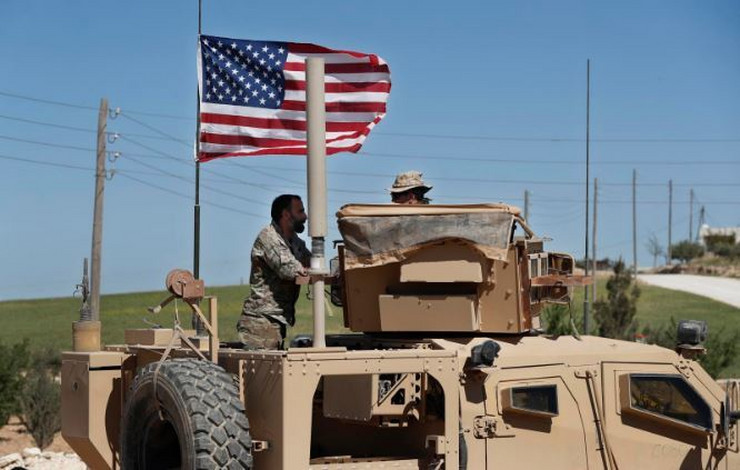 Američka vojska Sirija AP