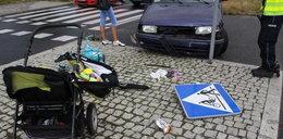 Auto wjechało w rodzinę. To cud, że dzieci przeżyły!