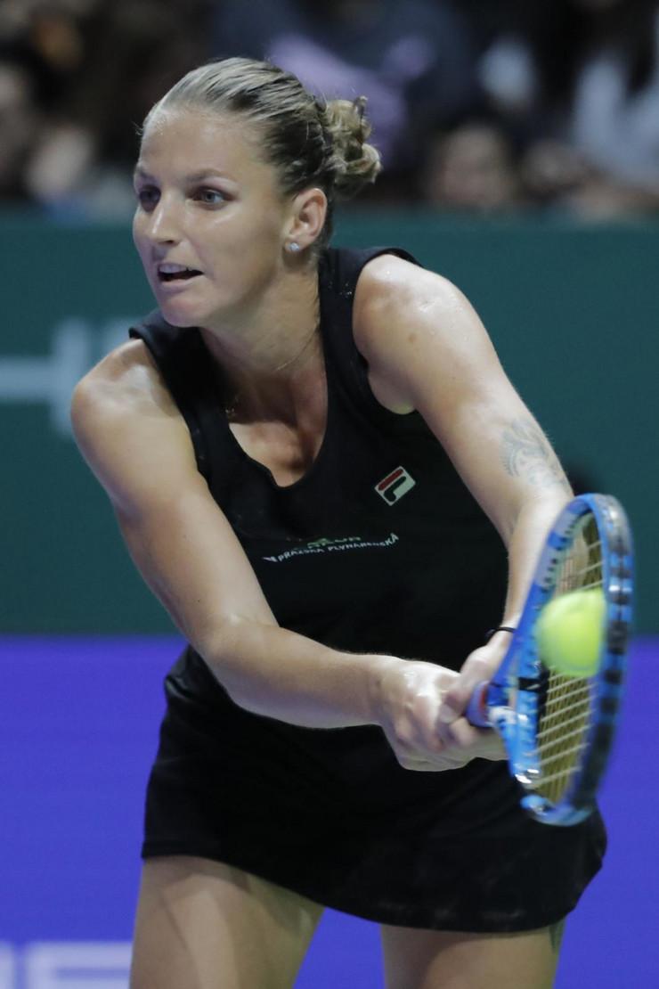 Karolina Pliškova, Karolina Voznijacki