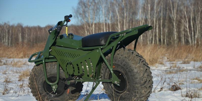 Taurus 2x2 – motocykl, który wjedzie wszędzie