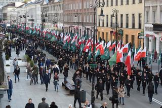 Warszawa: Rocznicowy marsz ONR i kontrdemonstracja