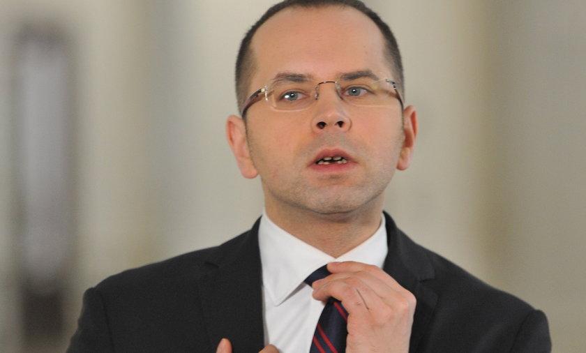 Michał Szczerba poseł PO