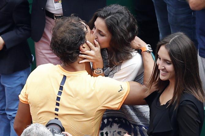 Rafael Nadal sa verenicom Marijom