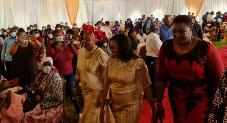 Nakuru Senator Susan Kihika holds lavish traditional wedding