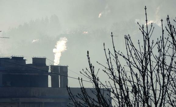 Vazduh je čistiji u manjim mestima