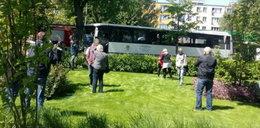 Tragedia w Górze Kalwarii. 9 osób rannych, nie żyje 55-latek