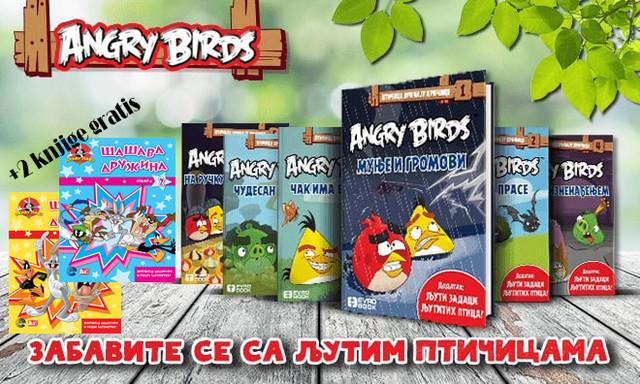 Angry Birds komplet knjiga