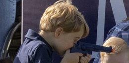 Zabiegana Księżna Kate z dziećmi na turnieju polo