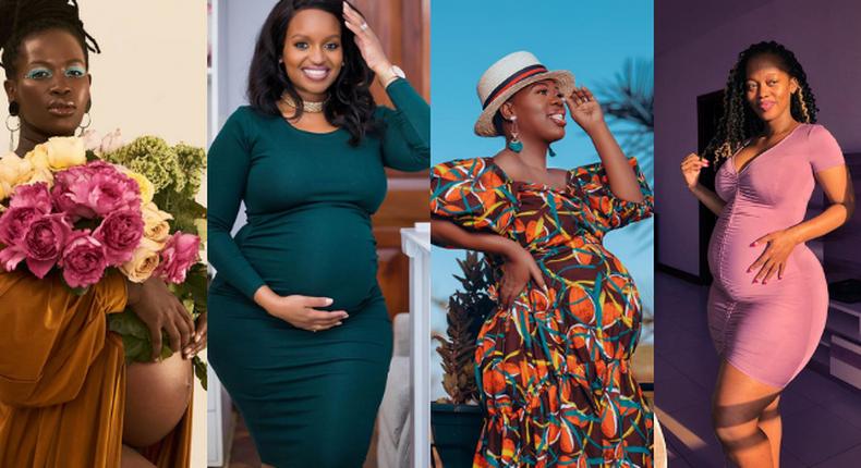 Lady Mandy, Grace Msalame, Ruth Matete and Corazon Kwamboka