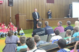 Predstavljanje projekta ''Osnovi bezbednosti dece'' u Sremskoj Mitrovici