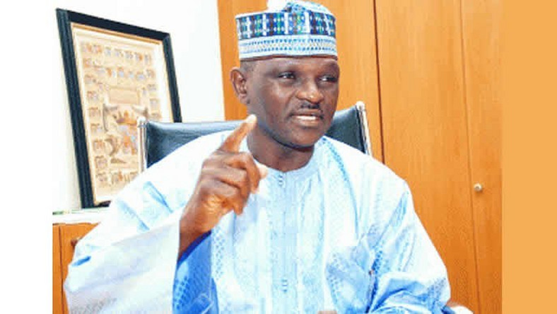 Major Hamza Al-Mustapha Rtd was Abacha's strike force leader