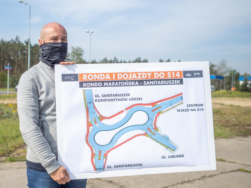 Łódź. Zaczynają budowę trzech rond