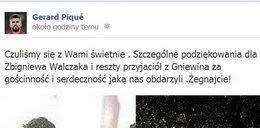 Pique nauczył się polskiego?