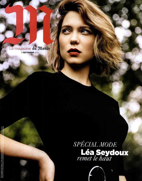 """Okładka """"Le Magazine Du Monde"""""""