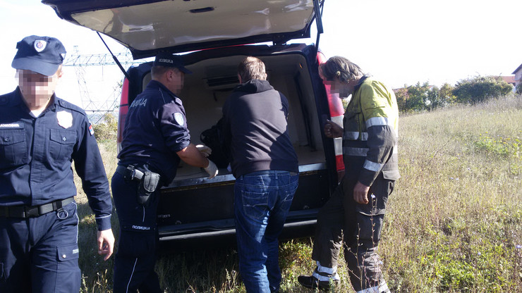 Policijski uviđaj u Belom potoku
