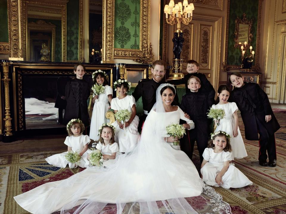 Meghan i Harry z dziećmi
