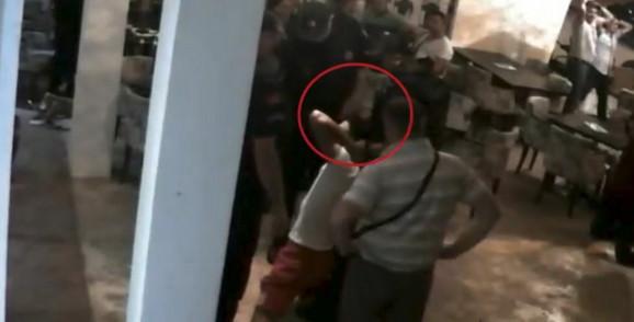 Policijska brutalnost u Ulcinju