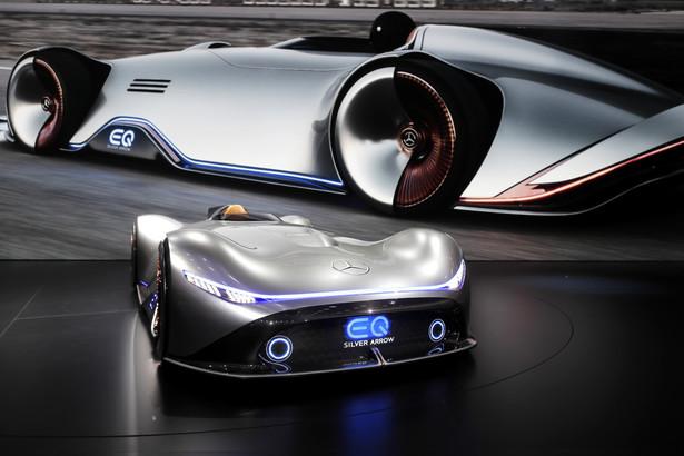 Mercedes-Benz Vision EQ Silver Arrow