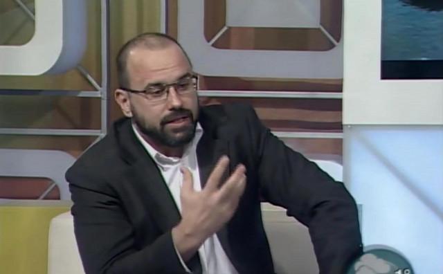 Branko Barać, partner Jelene Janković