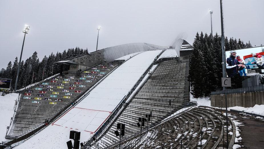 Holmenkollbakken w Oslo