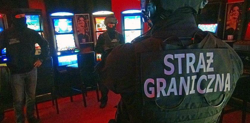 Nielegalne kasyna zlikwidowane! Działały pod Warszawą