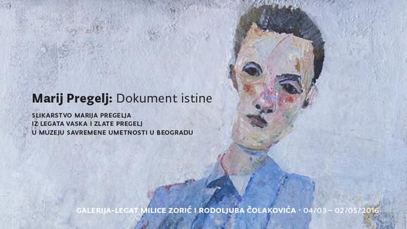 Pozivnica za izložbu u Legatu Čolakovića