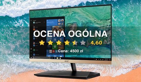 Acer Aspire S24 - test smukłego All-in-One