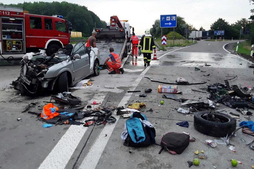 Polacy zginęli w wypadku w Niemczech