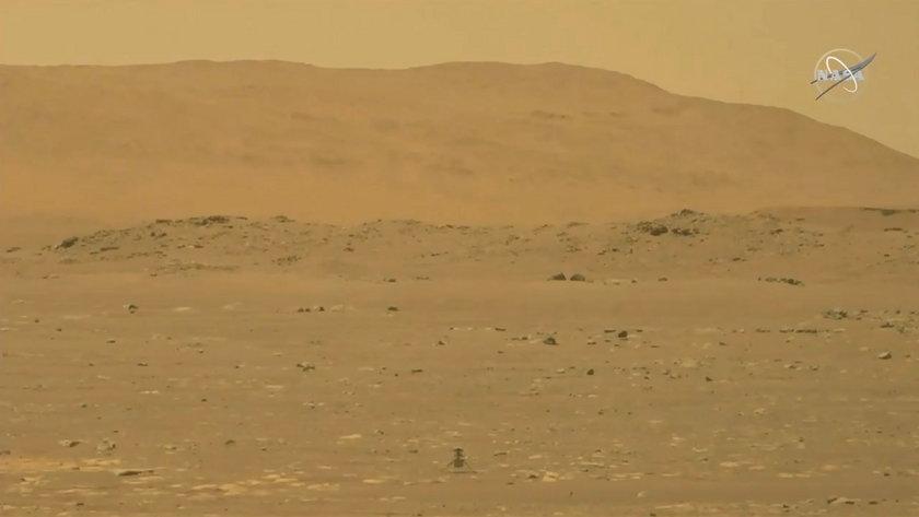 Wielki sukces NASA! Odbył się pierwszy w historii lot na Marsie