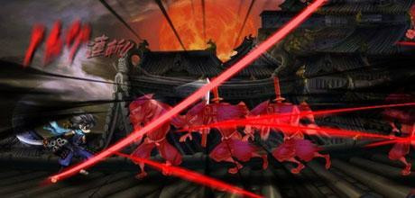 "Screen z gry ""Muramasa: The Demon Blade"""