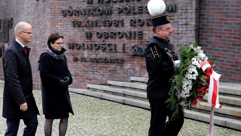 Pani premier przebywała wczoraj z wizytą na Śląsku...