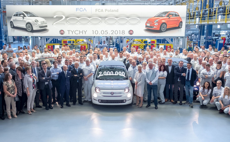 """Fiat 500 Collezione - dwumilionowa """"500-ka"""" trafi do Włoch"""