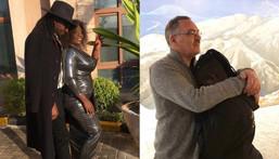 Nyota Ndogo and her hubby Hunning Neilsen and P Day