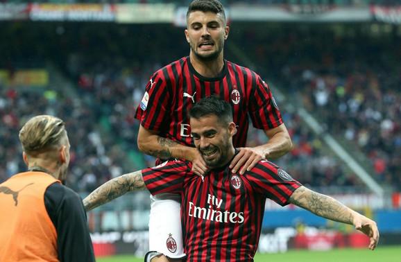 Radost fudbalera Milana