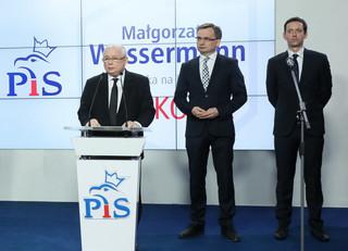 Jaki, Wassermann, Żalek, Płażyński: Kaczyński ogłasza kandydatów Zjednoczonej Prawicy na prezydentów miast