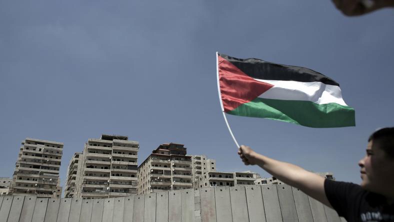 Obóz dla uchodźców z Palestyny w Shuafat na wschód od Jerozolimy
