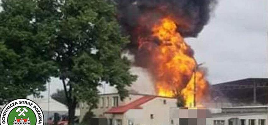 Wielki pożar na Śląsku. Płonęło 15 ton aluminiowych puszek