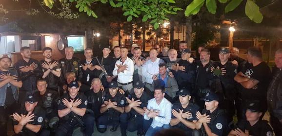 Hrvatski motorciklisti i pripadnici ROSU