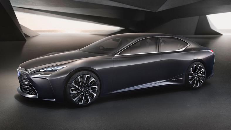 Lexus LF-FC czyli pierwszy na świecie lususowy samochód z ogniwami paliwowymi. W tym roku możemy poznać jego produkcyjną wersję