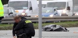 Kobieta zginęła jadąc na hulajnodze