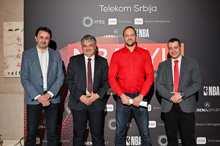 Predrag Ćulibrk, Vladimir Lučić, Igor Rakočević i Nebojša Žugić