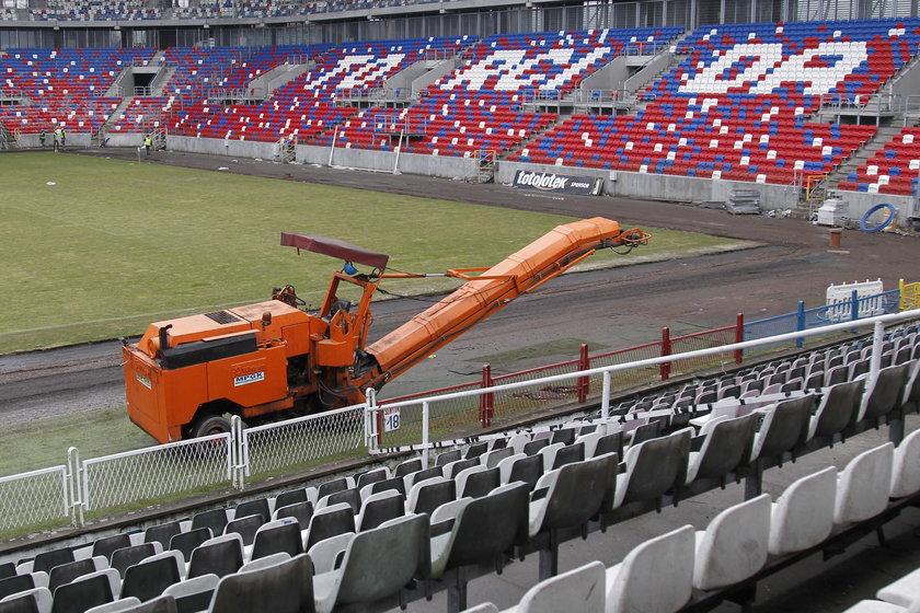 Przekręt przy budowanie stadionu Górnika Zabrze?