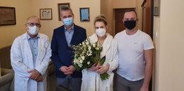 Wiceprezydent z wizytą u rodziców pięcioraczków. Świeżo upieczona mama wygląda kwitnąco!