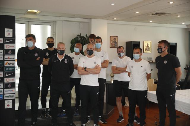 Stručni štab FK Partizan