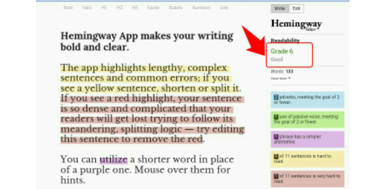 Hemingway Editor is great (writingcooperative)