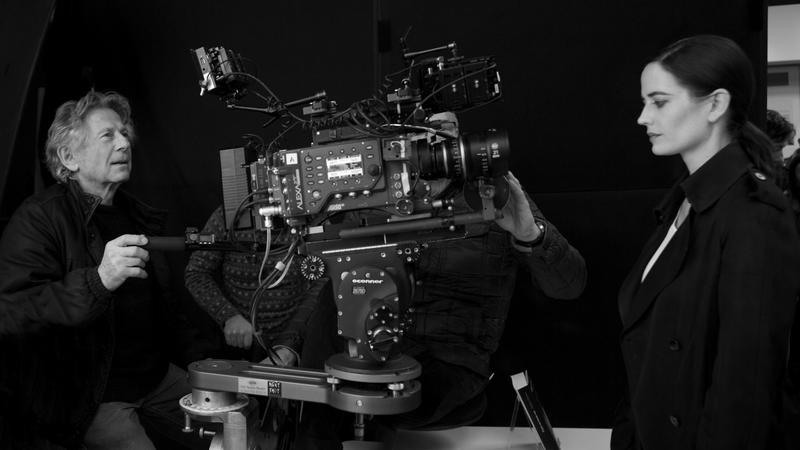 """Roman Polanski i Eva Green na planie filmu """"Prawdziwa historia"""""""