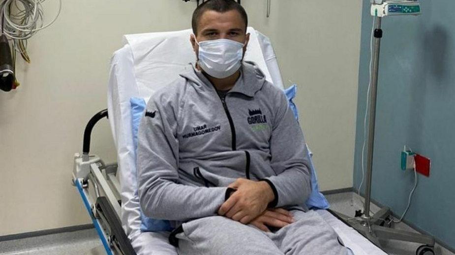 Umar Nurmagomedov wypada z UFC 254! Dagestańczyk trafił do szpitala