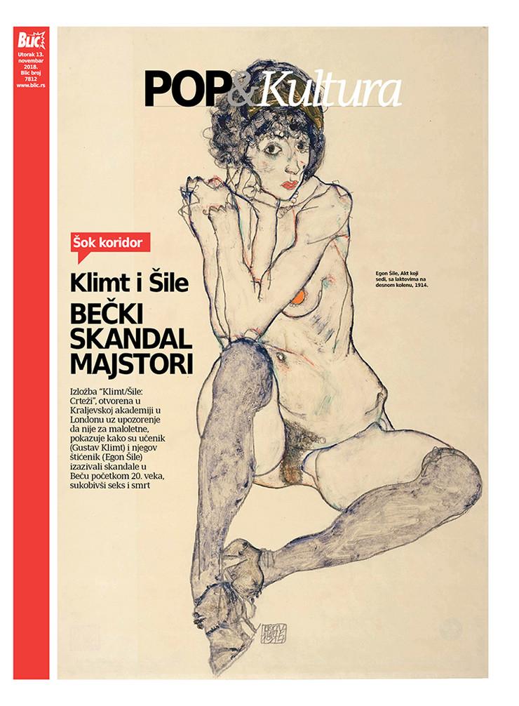 POP kultura Cover Klimt Šile