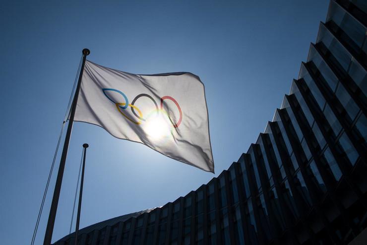 Olimpijska zastava
